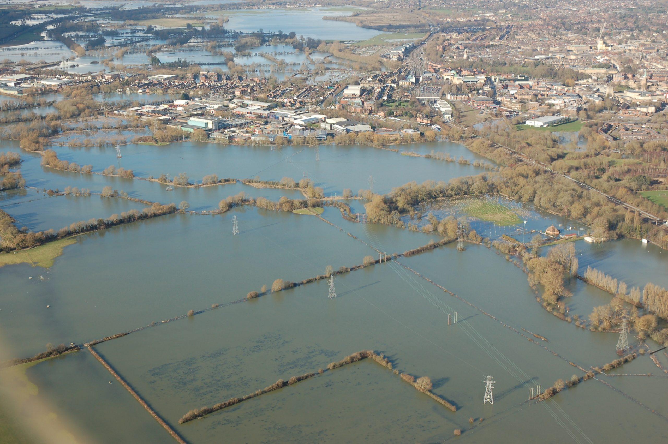 UK Floods: Oxford Still Underwater – February 2014