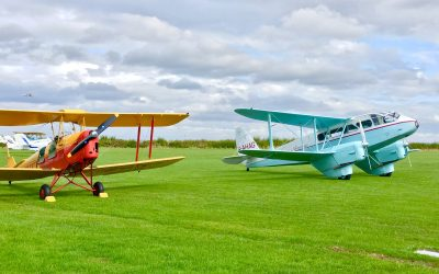 Flying Lessons at Duxford Airfield