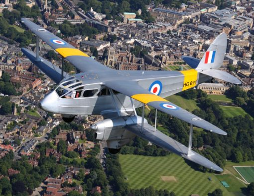 Dragon Rapide Flight