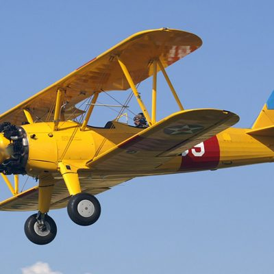 Boeing Stearman Experience over Oxford