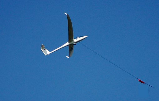 Gliding Winch Launch over Oxfordshire