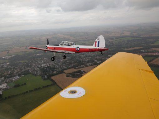Chipmunk formation flight