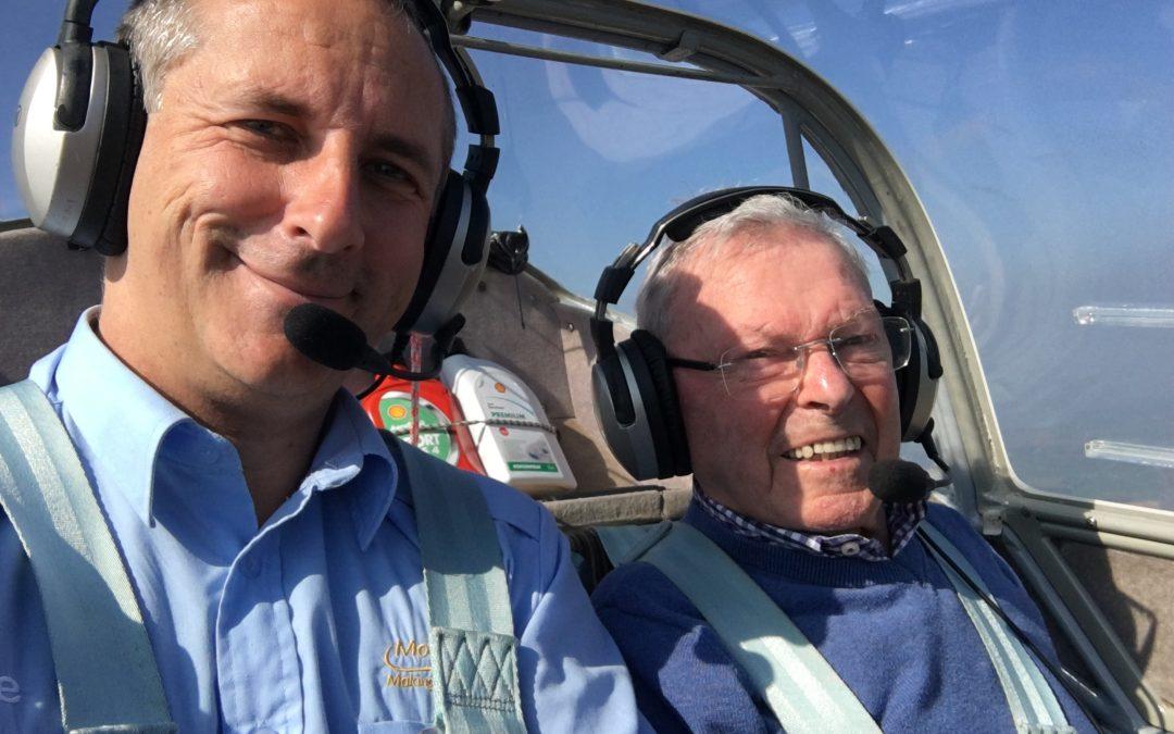 Grandad Flight Experience