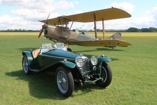 Vintage wings and wheels