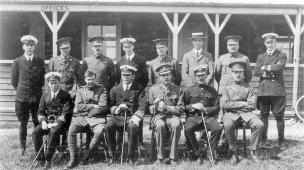 Central flying school 1913